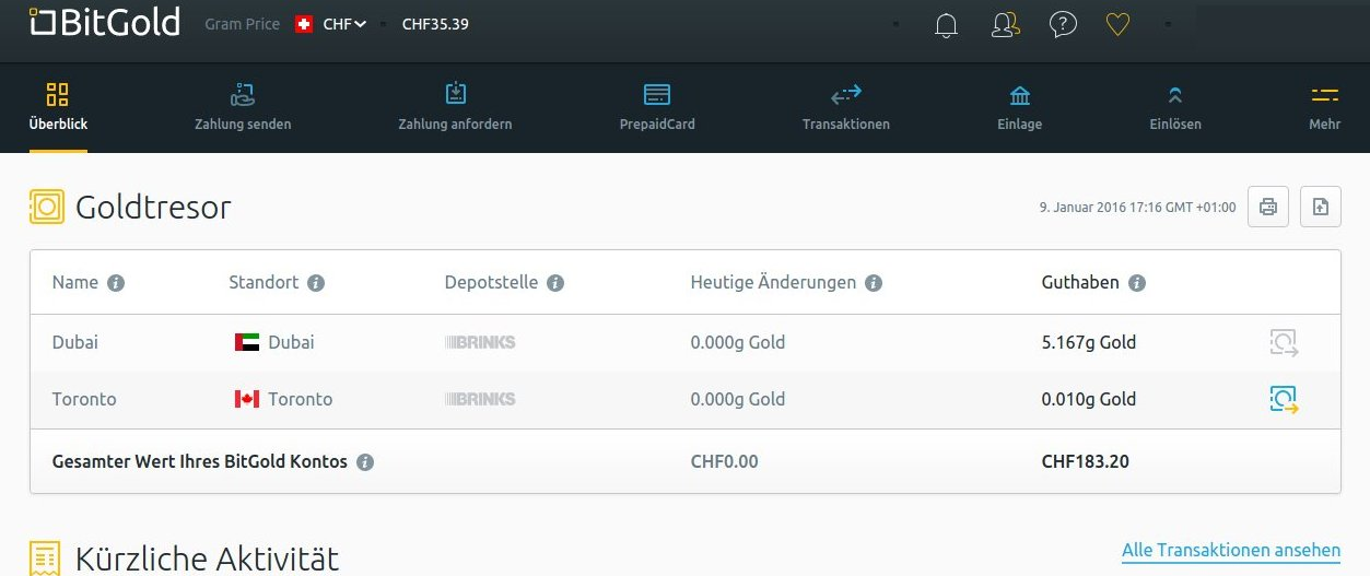 BitGold Backend