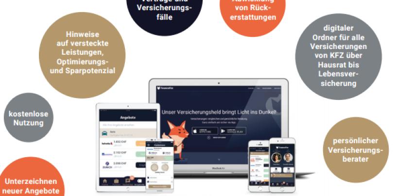 Schweizer InsuranceTech Startup FinanceFox erhält 5,5 Millionen US-Dollar