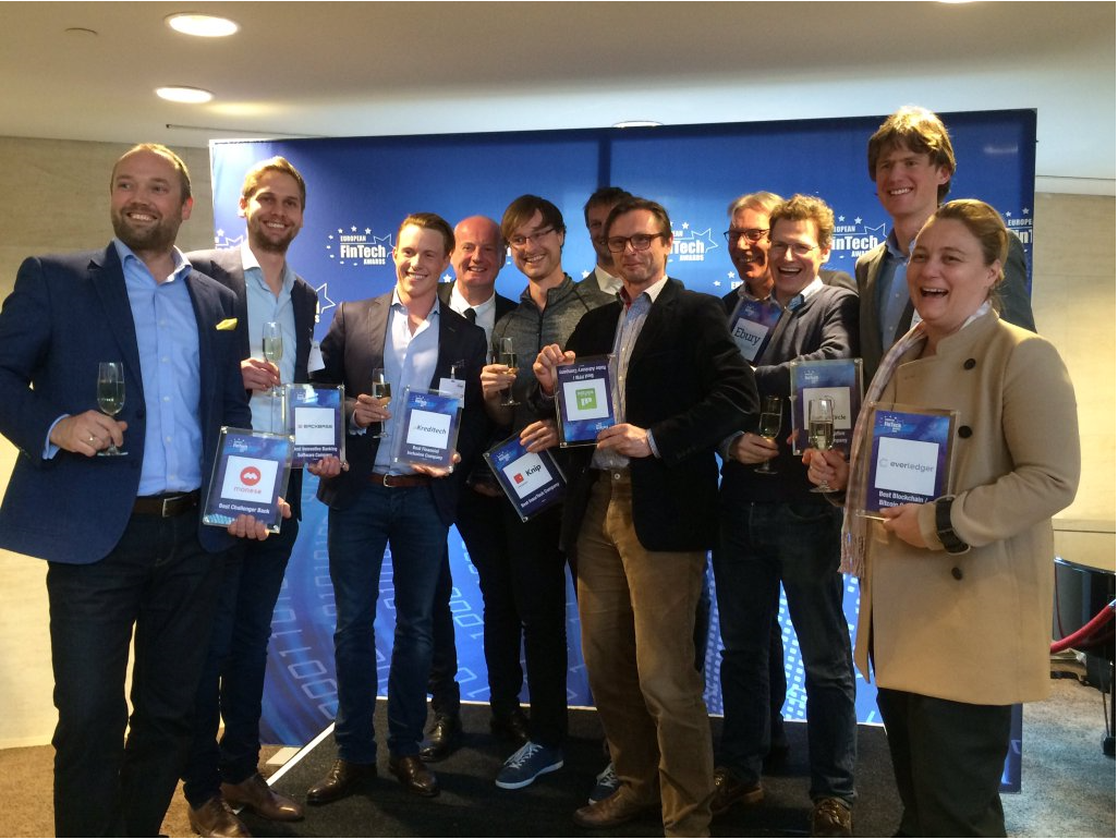 European Fintech Awards and Conference 2016 Winners