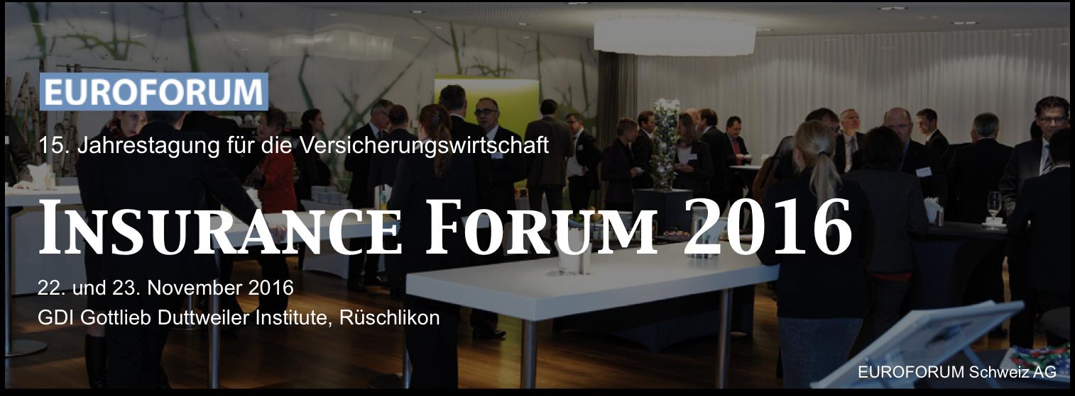 Insurance Forum 2016