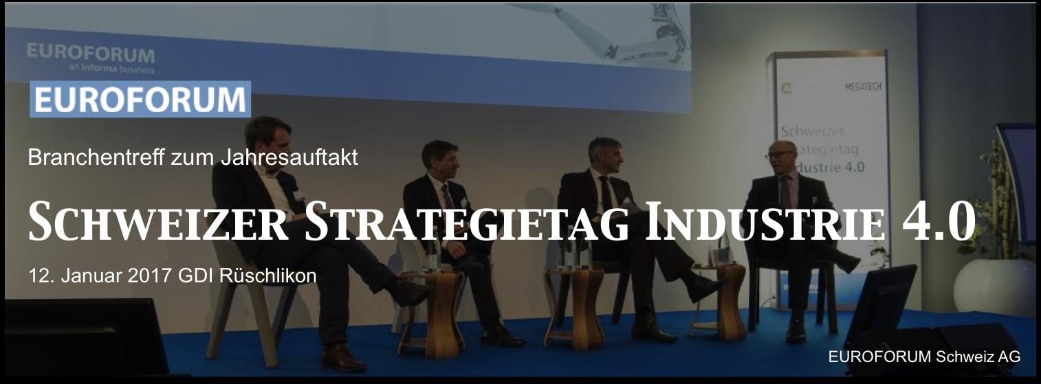 Schweizer Strategietag Industrie 4.0