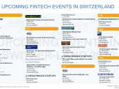 20 Upcoming Fintech Events in Switzerland