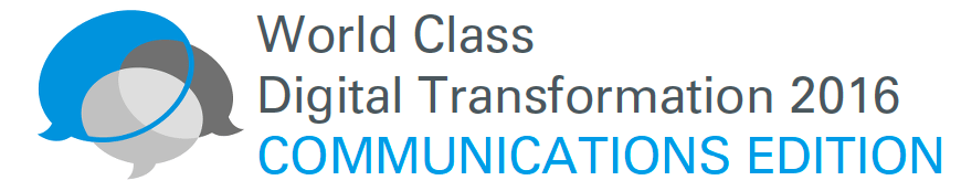 World Class Digital Transformation 2016