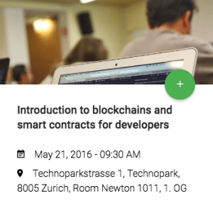 introduction to blockchain and smart contracts for developers ValidityLabs fintech course