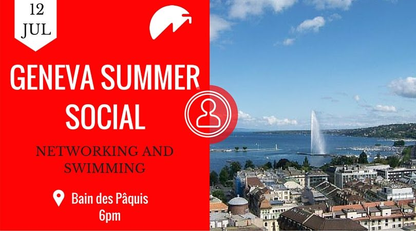 Swiss FINTECH #25 - Networking and swimming perhaps!
