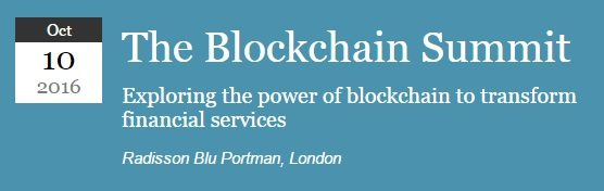 The Blockchain Summit 2016