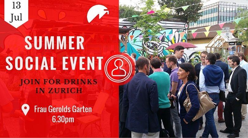 Zurich Summer Social Event