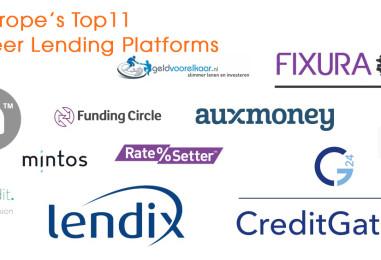 Europe's Top 11 Peer-to-Peer Lending Platforms