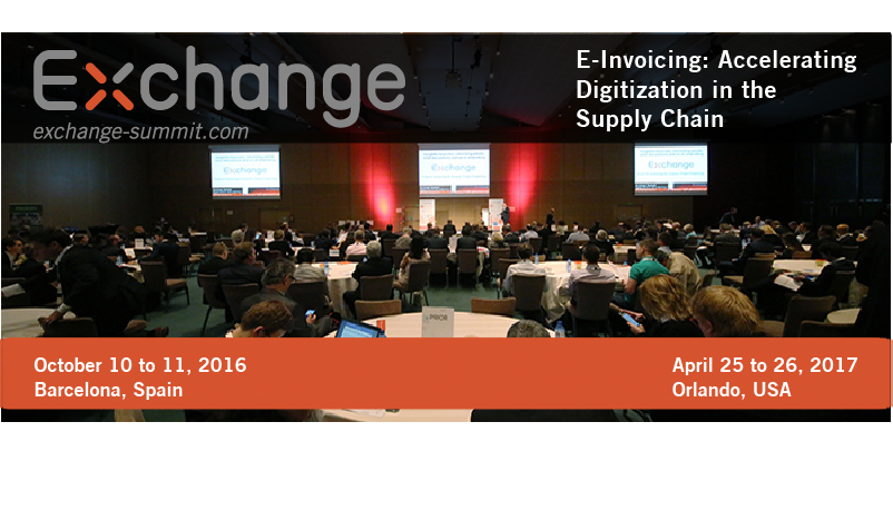 Exchange Summit: E-Invoicing and beyond