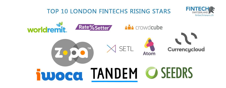 London's Fintech Startups: Top 10 Rising Stars