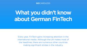 GoCardless Ltd. German Fintech report