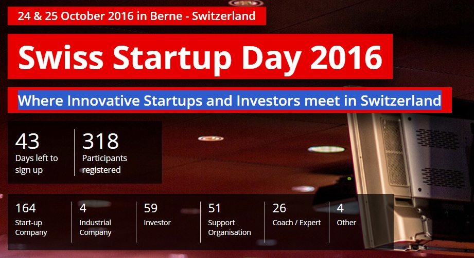 Swiss Startup Day 2016