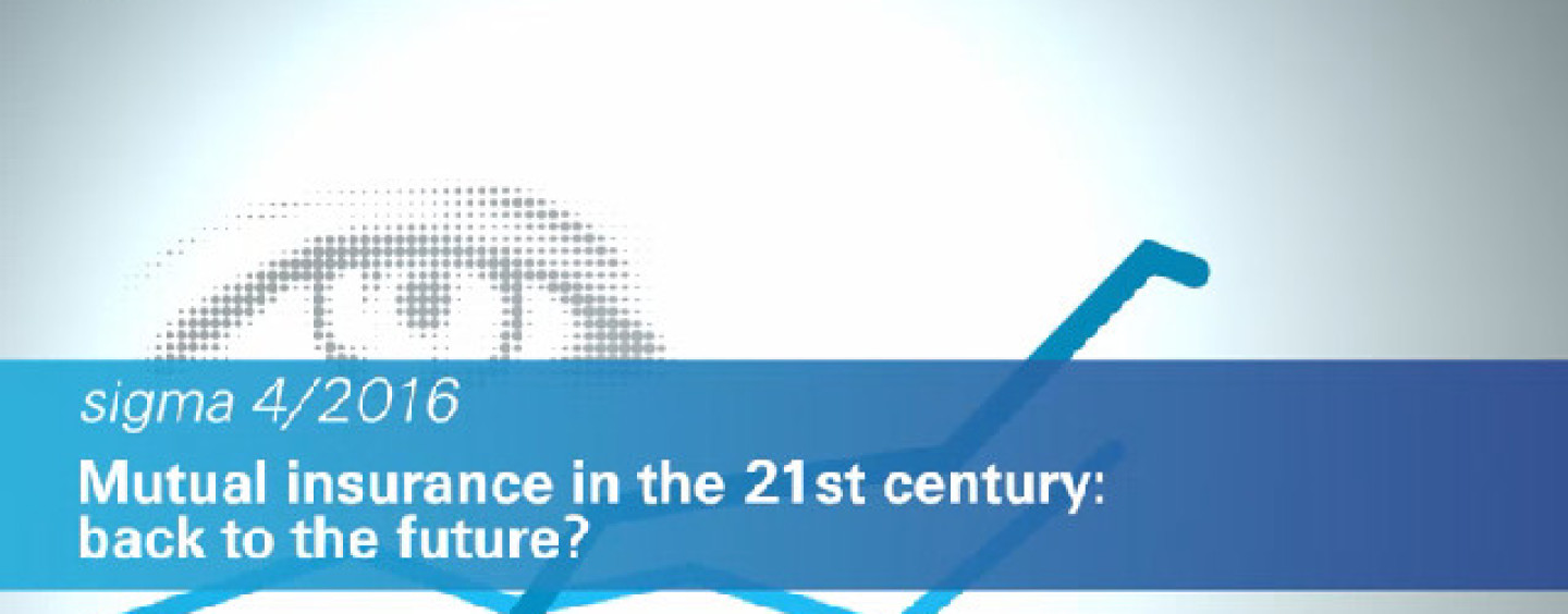 A Comeback For Mutual Insurance? Swiss Re Report Investigates Six Sigma and Digital Technology