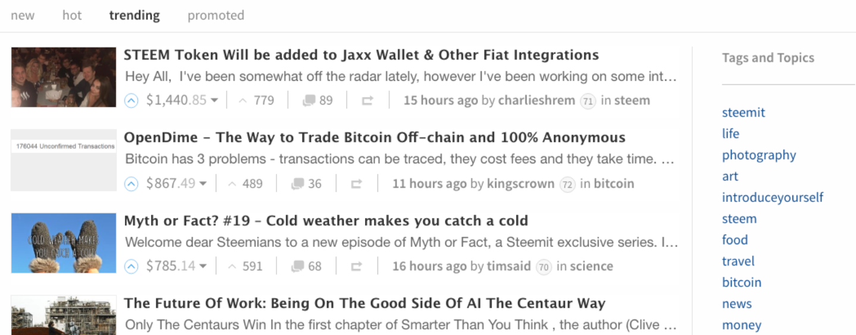 Steemit, the Blockchain-Powered Social Network