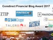 Comdirect Finanzblog Award 2017: 9 Blogs auf der Shortlist
