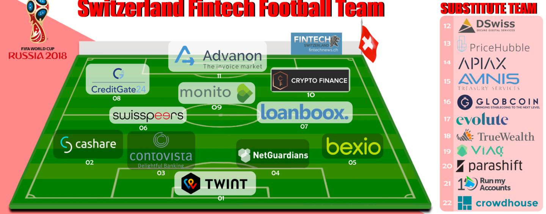 Swiss Fintech Worldcup Football Team