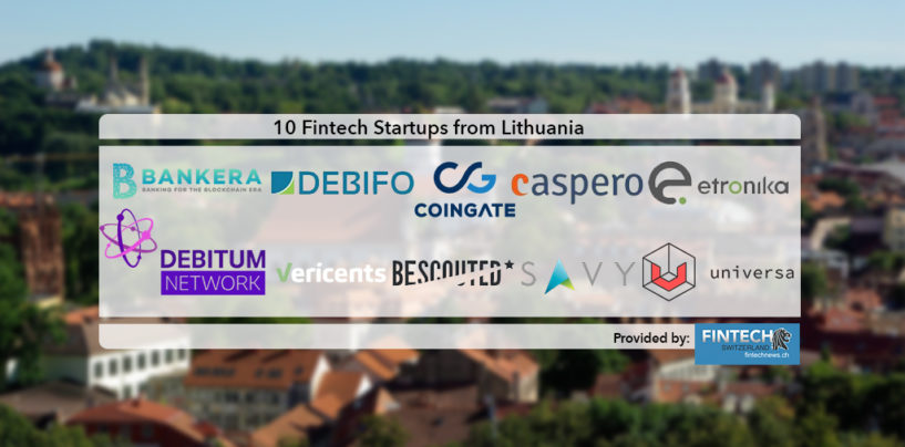 10 Exciting Fintech Startups from Lithuania to Keep an Eye on