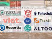 These 9 Fintech Startups Made It Into Kickstart Accelerator 2018