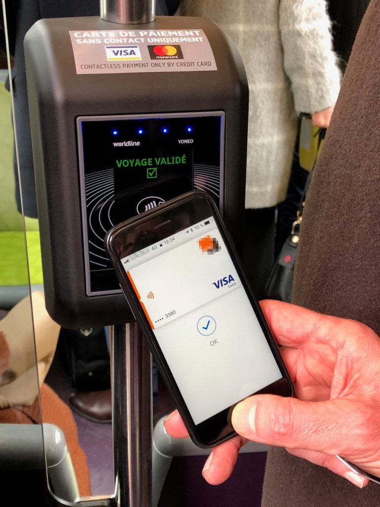 Dijon Tram Contactless Payment