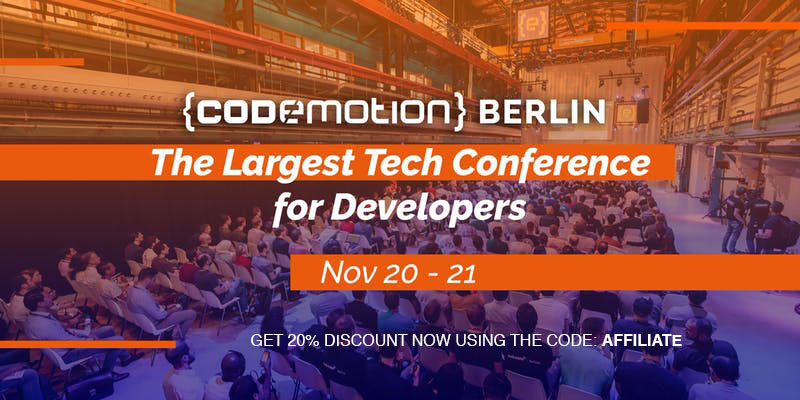 Codemotion Berlin 2018