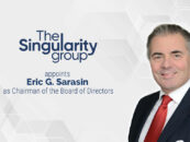 The Singularity Group Appoints Eric G. Sarasin as Chairman of the Board of Directors