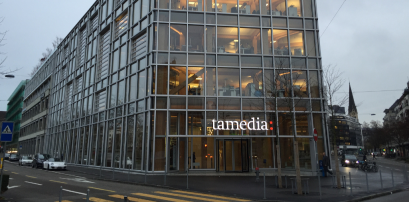 F10 Just Gained Its First Partner from Outside the Traditional Finance Industry, Tamedia