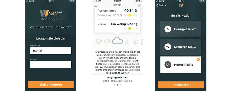 Anlage-Performance Vergleichs-App Gewinnt Graubünder KB als Partner
