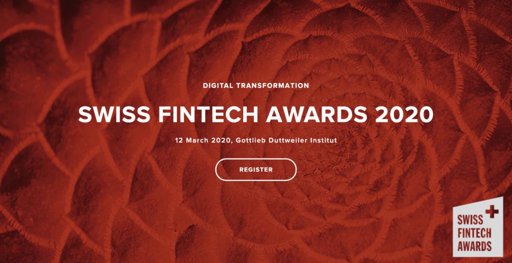 Swiss Fintech Awards 2020