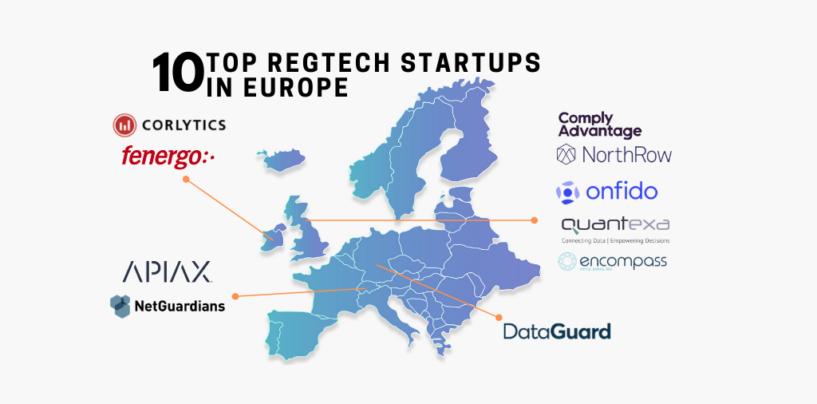 Top 10 Regtech Startups in Europe