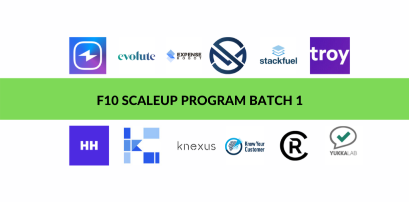 F10 Scaleup Program – 12 Fintech Startups Selected for Batch 1 in Switzerland