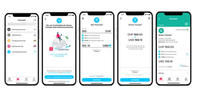 Hypi Lenzburg und neon erweitern Open-Banking-Angebot mit TransferWise
