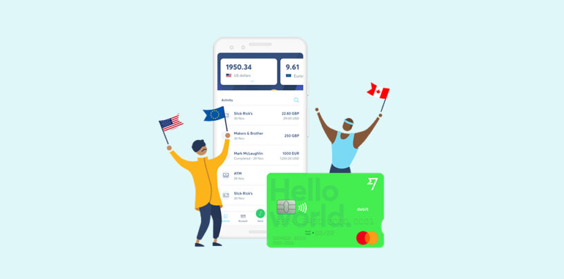 Introducing the TransferWise Debit Card and Borderless Account