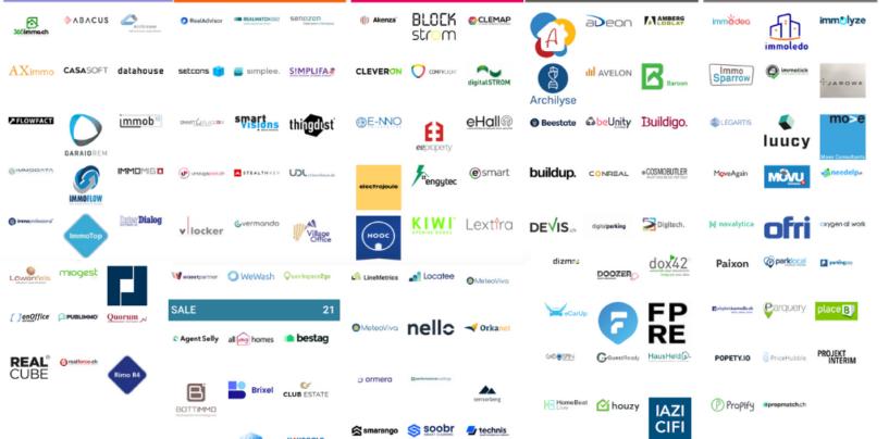 Proptech Map Switzerland zählt nun 299 Unternehmen