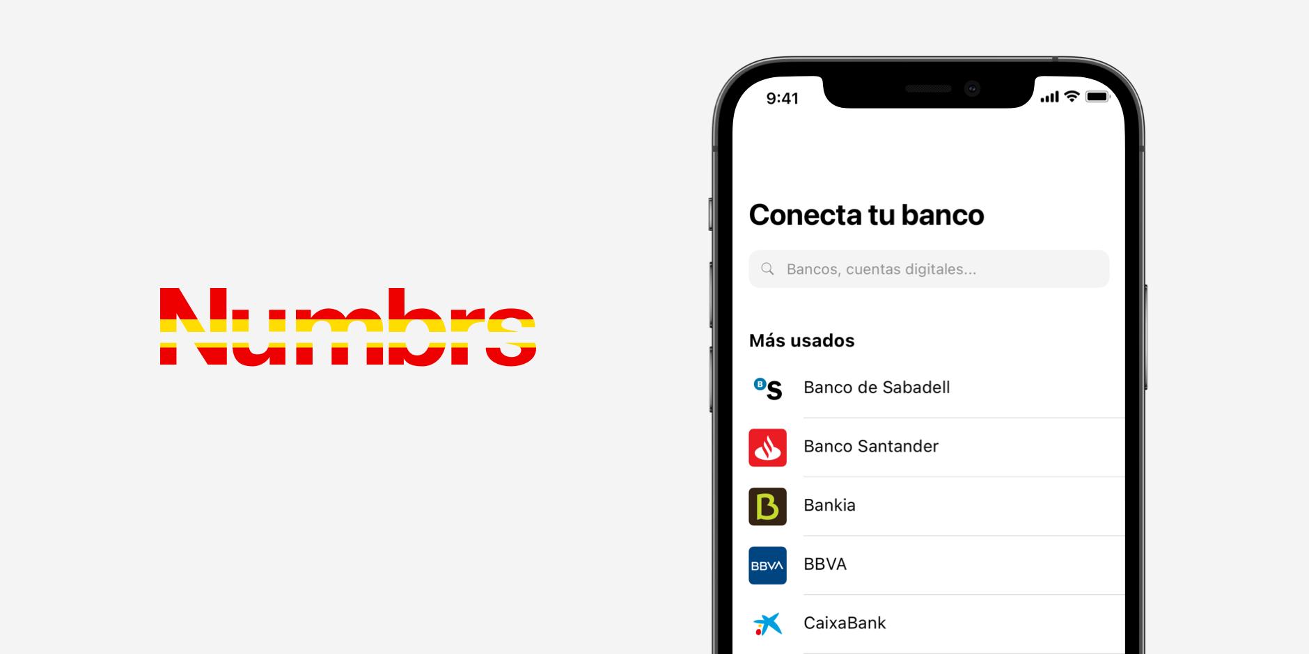 Numbrs launches personal finance app in Spain, via Numbrs.com