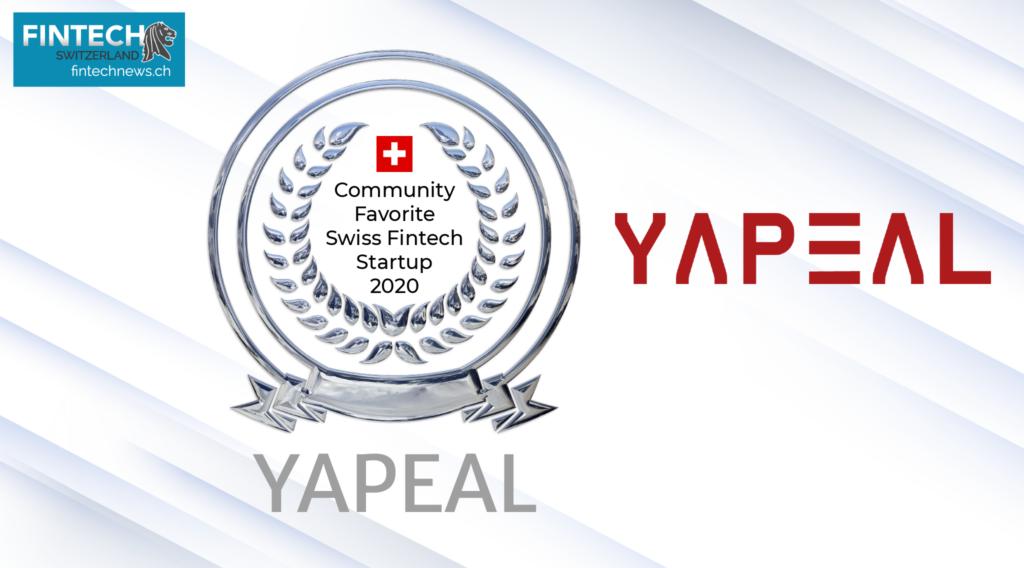 Top Swiss Fintech Startups of 2020 yapeal
