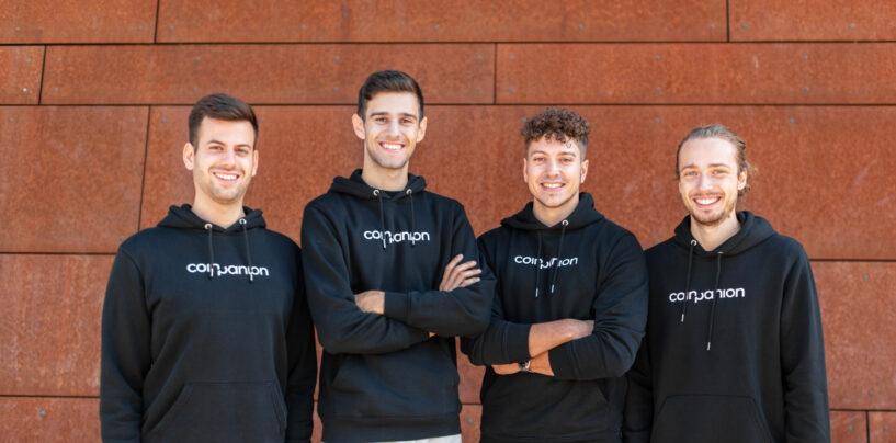 1,8 Millionen Euro Seed-Finanzierung für Krypto-Investment-Startup Coinpanion