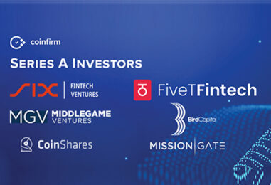 Coinfirm Raises US$8 Million in Series A Co-led by SIX Fintech Ventures
