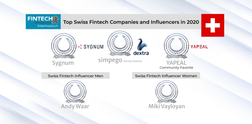 Fintech News Readers Voted: The Top Swiss Fintech Influencers and Companies